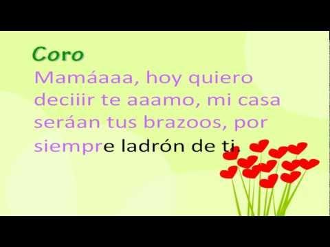 """Canciones para el día de la madre """"Mamá"""" (Que alegría da...)"""