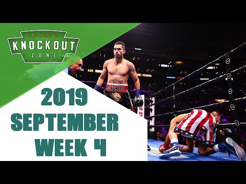 Boxing Knockouts | September 2019 Week 4