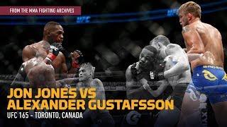 MMA Fighting Archives: Jon Jones Edges Alexander Gustafsson at UFC 165