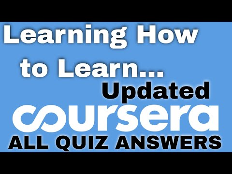 learning how to learn coursera answers | learning how to learn ...