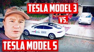 🔌 Семь грехов Tesla Model 3. Сравнение с моей Tesla Model S.