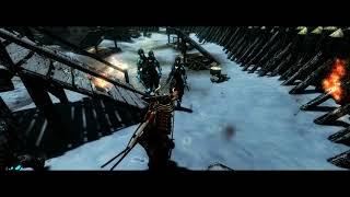 Skyrim Special Edition (modded) - Samurai build gameplay