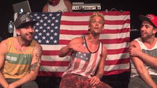 "Aaron Carter ""Not Too Young, Not Too Old"" Baltimore Soundstage 6/2/13"