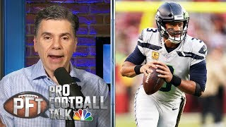 Experience helps push Rusell Wilson past Jimmy Garoppolo and 49ers   Pro Football Talk   NBC Sports
