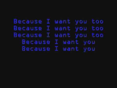 placebo-because i want you/lyrics