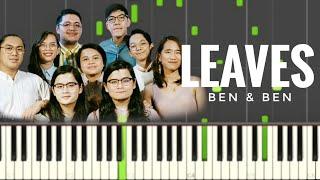 Leaves | Ben&Ben | Piano Tutorial