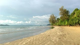 preview picture of video 'Malaysia / Borneo-Sabah Beringgis Beach Resort'