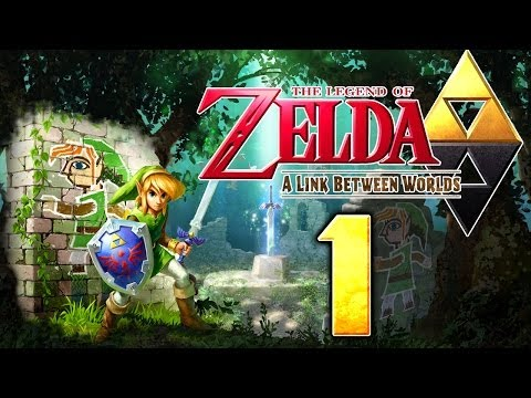 The Legend of Zelda A Link to the Past 3DS Walkthrough - Zelda A