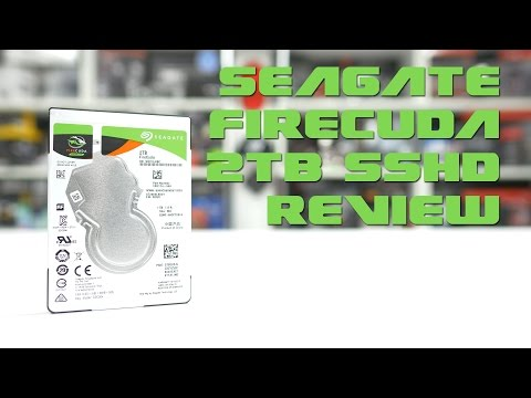 #0144 – Seagate FireCuda 2TB SSHD Review + Real World Tests