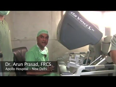Dr. Arun Prasad Explains Robotic Bariatric Surgery for Patients
