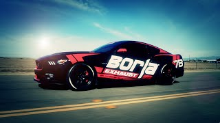 Video: Borla Image-Video für Ford Mustang GT - Vergleich TOURING - S-TYPE - ATAK