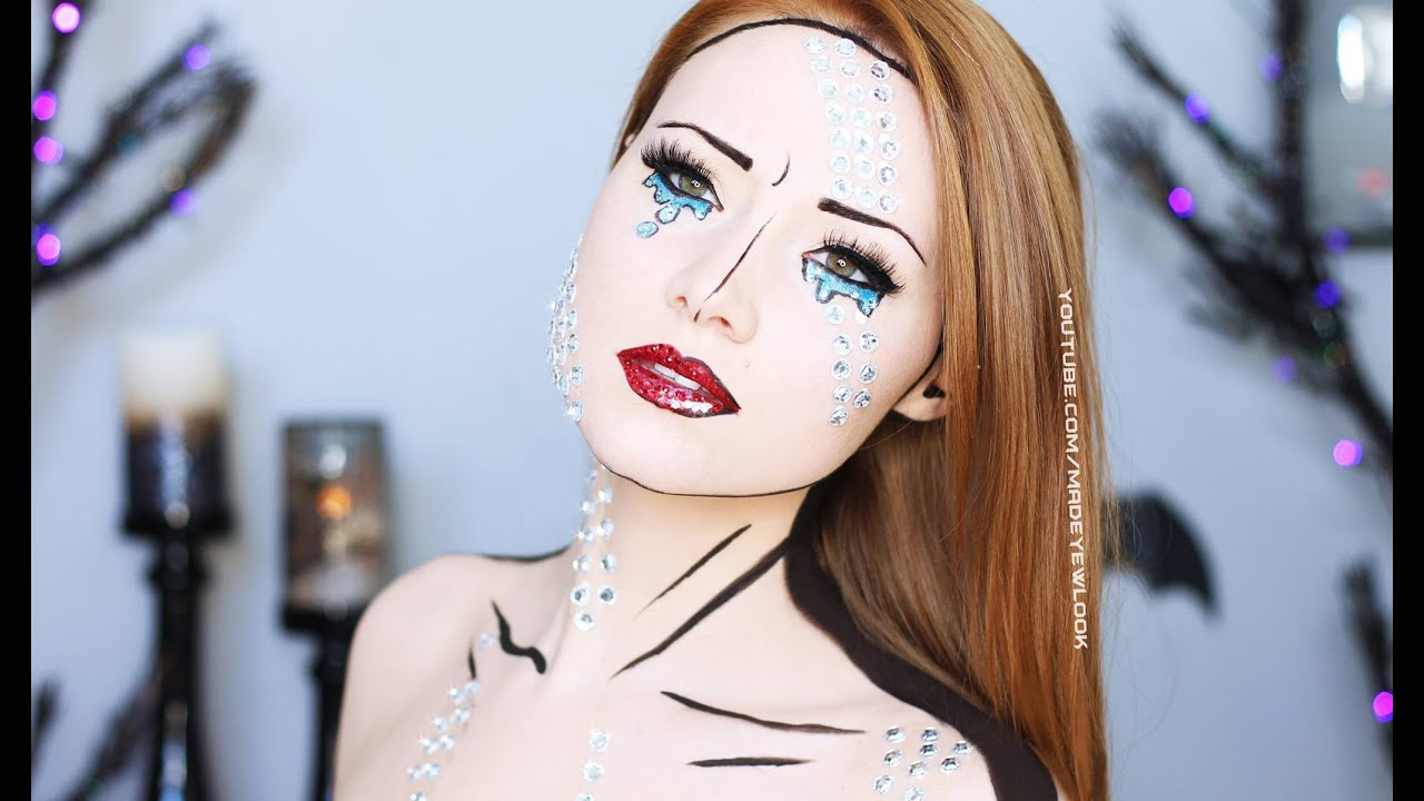 This Comic Book Make-Up Is Blowing My Mind