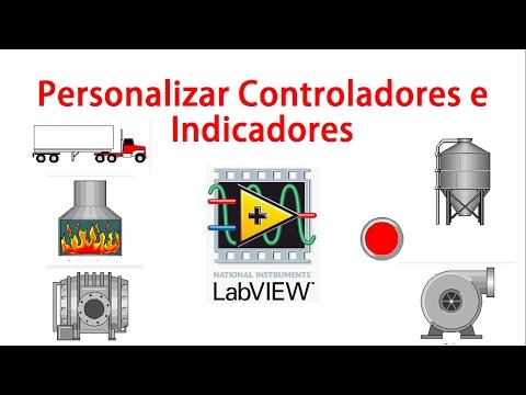 Personalizar Controles e indicadores en LabVIEW Ejemplos