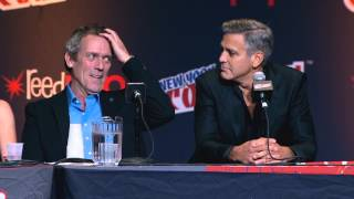 Tomorrowland: George Clooney & Hugh Laurie New York Comic Con Panel Soundbites