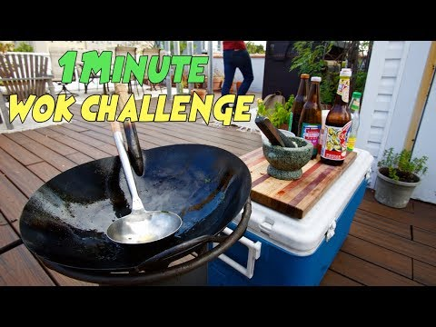 Cooking 3 Thai Street Dishes in Under 1 Minute