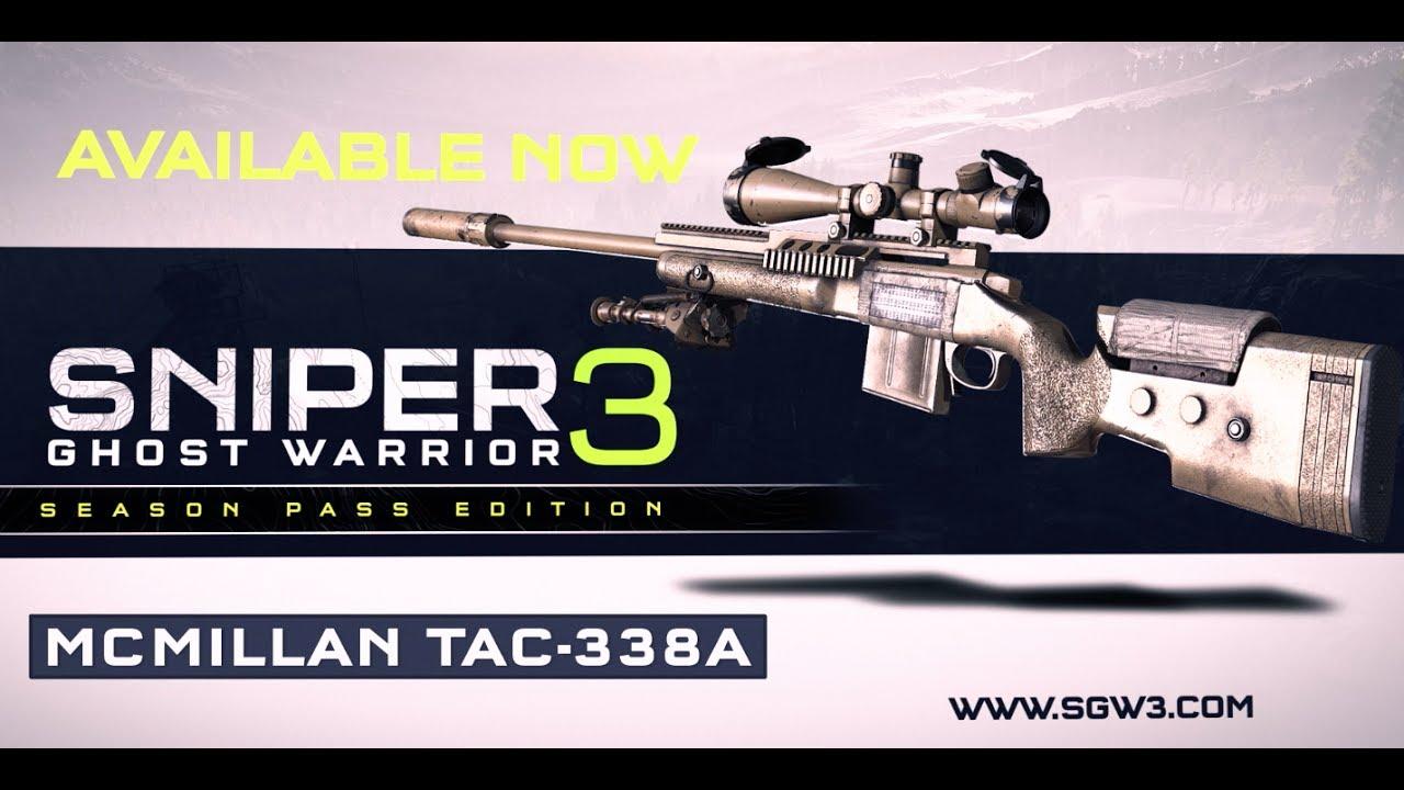Sniper Ghost Warrior 3 - Il leggendario MCMillan TAC-338A è adesso disponibile