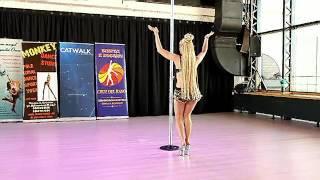 Exotic Pole Dance. Восточный танец. Мару.