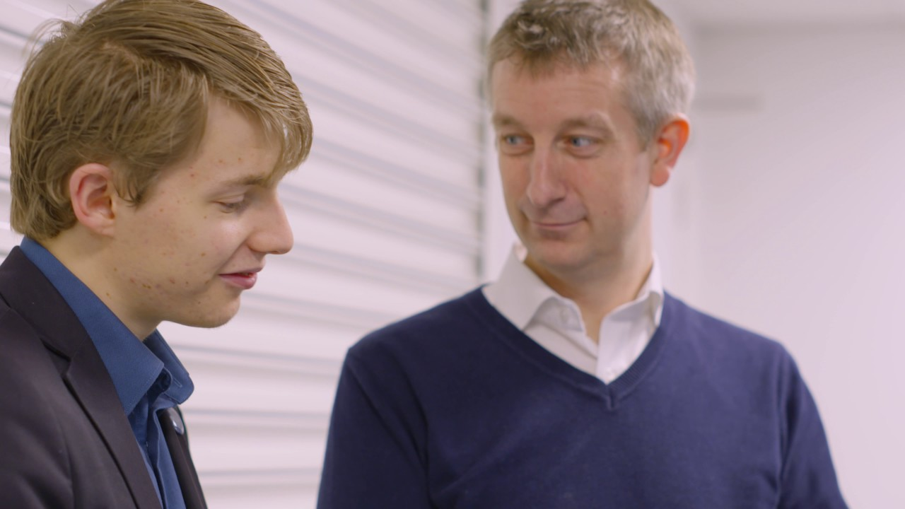 Ed Hollands talks about his development as a University of Derby graduate