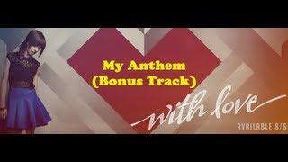 """My Anthem (Bonus Track)"" LYRICS by Christina Grimmie"