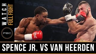 Spence Jr. vs van Heerden FULL FIGHT: September 11th, 2015 - PBC on Spike