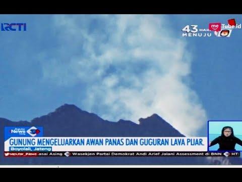 Gunung Merapi Keluarkan Awan Panas dan Guguran Lava Pijar - SIS 05/03