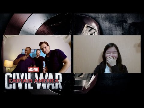 Chris Evans, Sebastian Stan & Anthony Mackie Win Fans' Hearts! | MTW