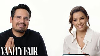 Eva Longoria and Michael Peña Teach You Mexican Slang | Vanity Fair