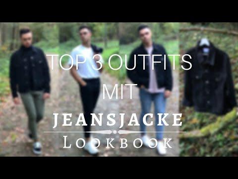 TOP 3 OUTFITS MIT JEANSJACKE + LOOKBOOK 🍂😍🔥 | Luke Bailey