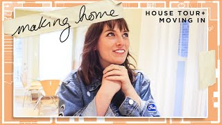 my new house tour! (+ moving in and starting renos)