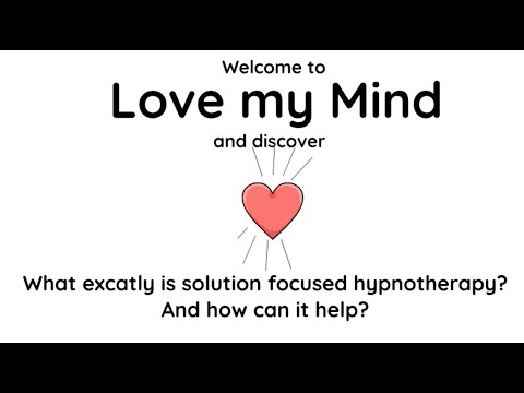 What is solution focused hypnotherapy, and how can it help?