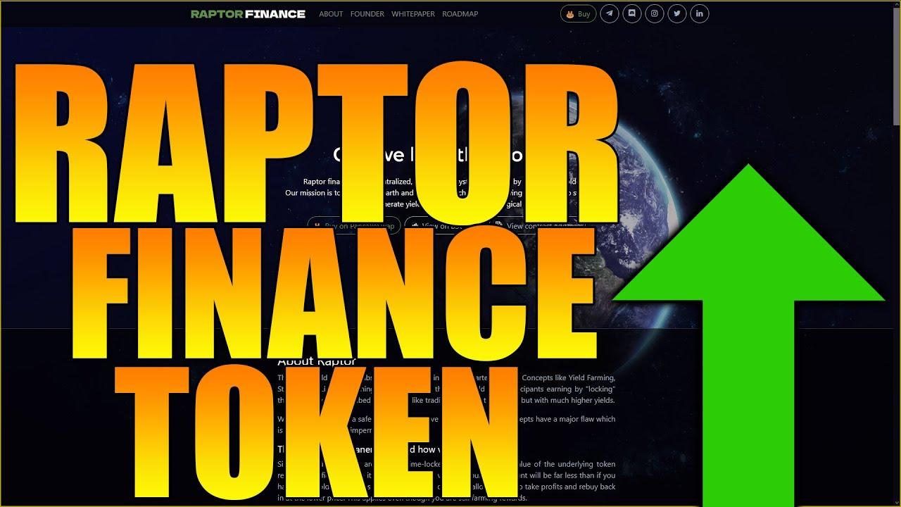 Raptor Financing Token - HUGE Staking BENEFITS! - Huge Strategies! thumbnail