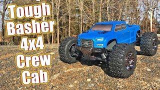 Bash & Blast Ready 4x4 Monster Truck! ARRMA Big Rock Crew Cab 3S BLX Review   RC Driver