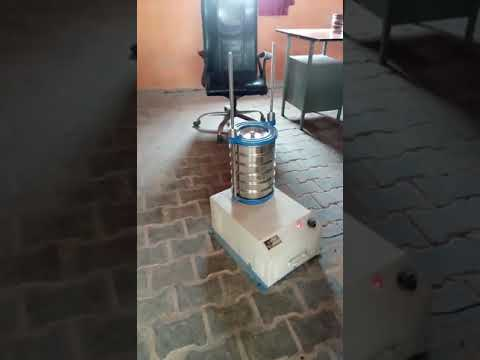 Gyratory Sieve Shaker for Test Sieves