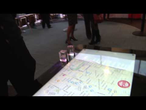Touch screen interactive maps - Transforming Tourism