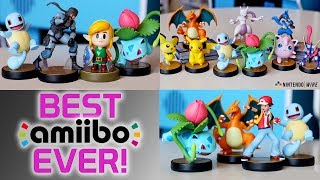 The Best Amiibo Ever Released! | Hands-On with Link, Snake, Squirtle, & Ivysaur