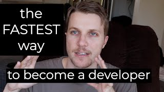 The FASTEST way to become a web developer (step by step strategy)