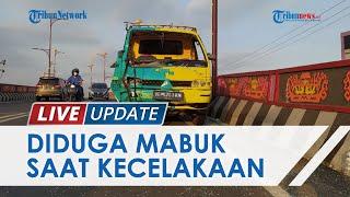 Kecelakaan Maut Motor Vs Pikap di Flyover Sultan Agung, Pemotor Diduga dalam Kondisi Mabuk Berat