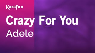 Karaoke Crazy For You - Adele *