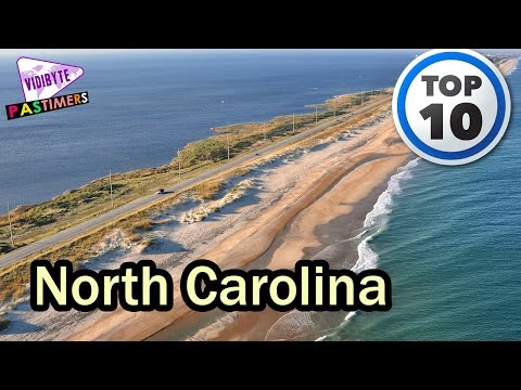 Video 10 Best Places to Visit in North Carolina || Pastimers