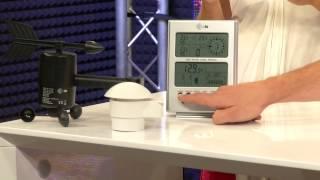 Digitale Funk-Wetterstation mit Funkuhr & Außensensor