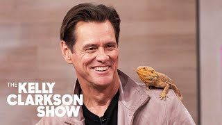 Jim Carrey Pretends Hes Ace Ventura While Meeting Wild Animals With Coyote Peterson
