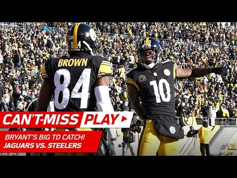 Big Ben's Huge TD Bomb to Martavis Bryant on 4th & 11! | Can't-Miss Play | NFL Divisional Round HLs