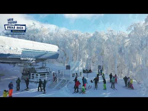 Zasnežený Snowparadise 2019  - © Snowparadise Veľká Rača Oščadnica