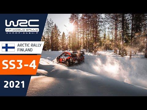 WRC 2021 第2戦のラリーフィンランド SS3-SS4のハイライト動画
