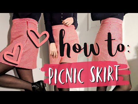 how to: picnic skirt!