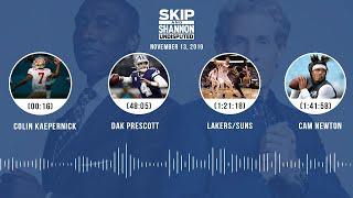 Colin Kaepernick, Dak Prescott, Lakers/Suns, Cam Newton | UNDISPUTED Audio Podcast