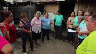 La Paz se solidarizó con los hermanos que viven una situación precaria en Chametla