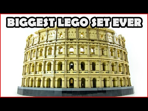 Vidéo LEGO Creator 10276 : Le Colisée