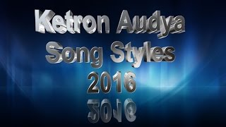 KETRON AUDYA NEW SONG STYLES 2016