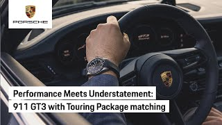 Porsche Design Chronograph 911 GT3 with Touring Package